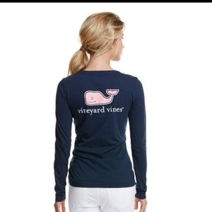 Vineyard Vines Long Sleeve Womens Tee Small